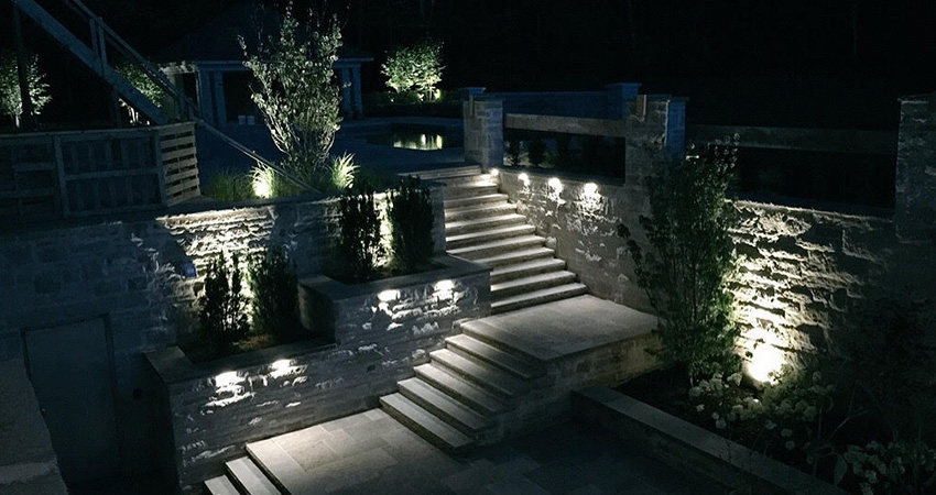 This Company Excels In Fine Landscape Lighting Burlington